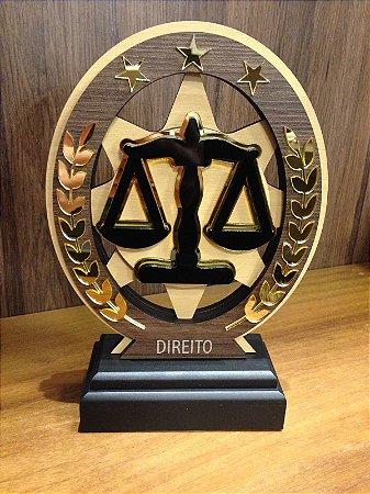 Troféu Madeira MDF Cursos -  Direito
