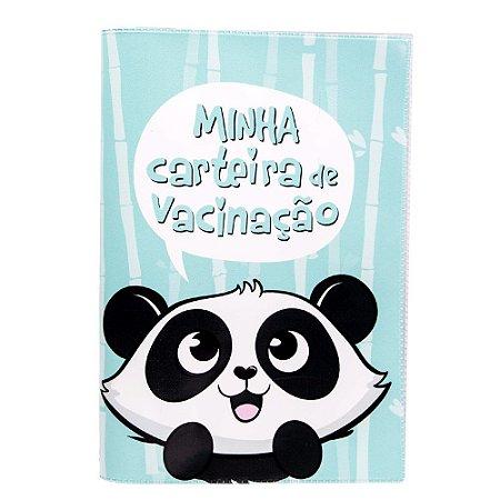 Porta Carteira de Vacina- Panda