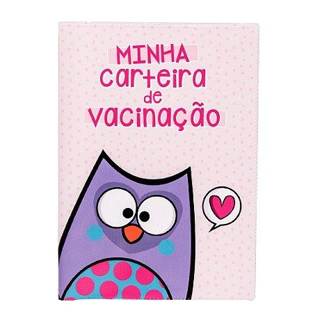 Porta Carteira de Vacina- Coruja