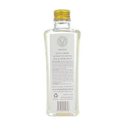 Refil Volúpia 140ml- Uva e Morango