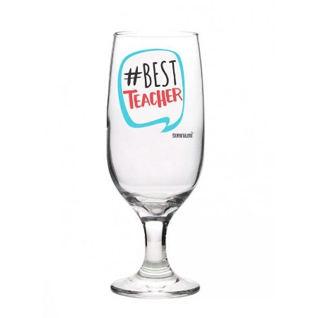 Taça Floripa c/ Caixa 300ml- #Best Teacher