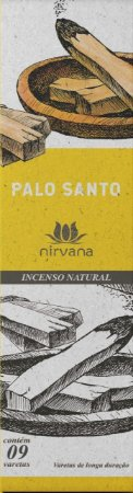 Incenso Natural 9 varetas Nirvana - Palo Santo