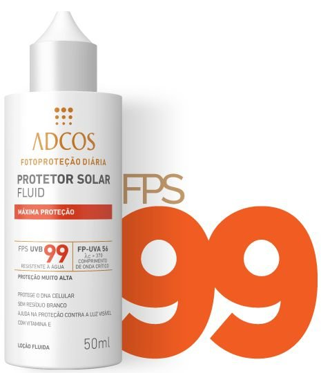 ADCOS Bloqueador Solar Máxima Proteção 501ml - FPS 99 - Cantinho ... 94e285e683