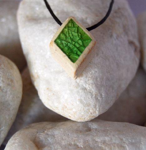 Colar aromático individual – Losangolo Verde