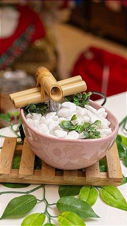 Fonte cerâmica banheira - Rosa