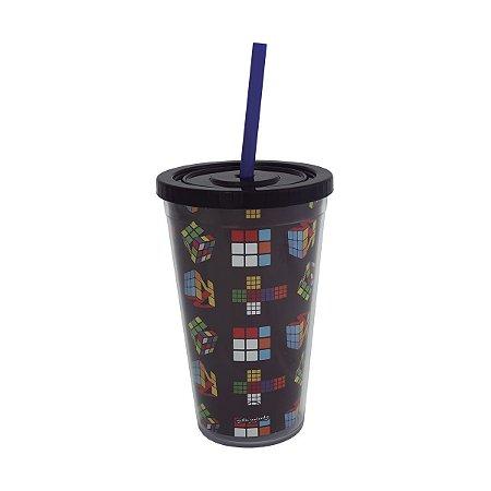 Copo Canudo - Lego preto