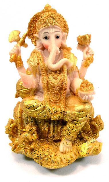 Ganesh com Portal dourada