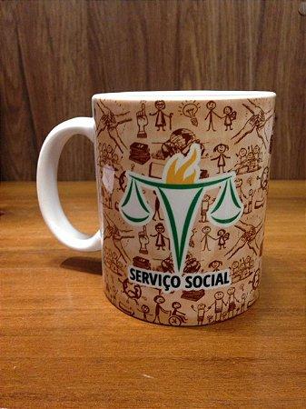 Caneca Cerâmica - Serviço Social