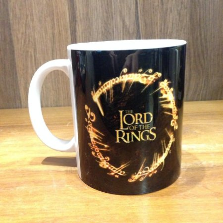 Caneca Cerâmica - Senhor dos Anéis Lord and Rings