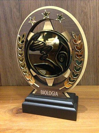 Troféu Madeira MDF Cursos - Biologia
