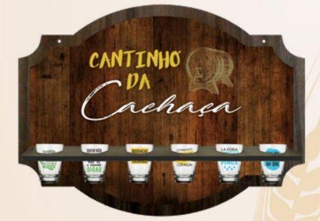 Kit Porta Copos - Cantinho da Cachaça