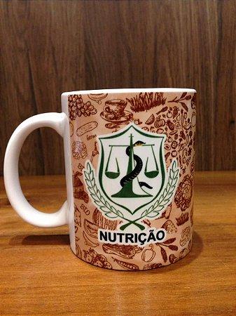 Caneca Cerâmica - NUTRIÇÃO