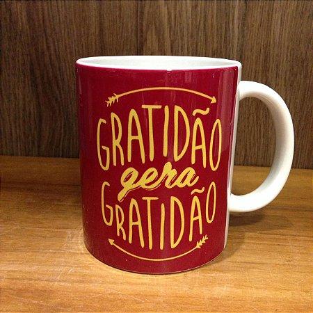 Caneca Cerâmica - Gratidão gera Gratidão