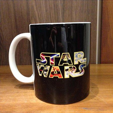 Caneca Cerâmica - Star Wars Preta