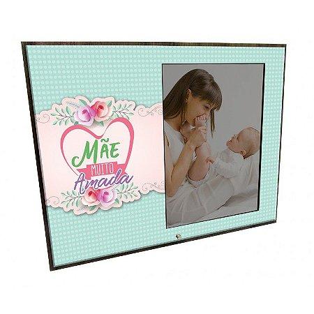 Porta Retrato MFD/Tecido - Mãe muito amada