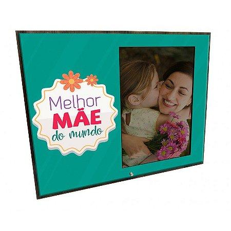 Porta Retrato MFD/Tecido - Melhor Mãe do mundo
