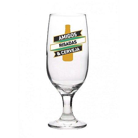 Taça Floripa c/ Caixa 300ml- Amigos, risadas e cerveja