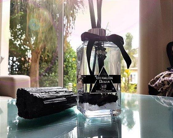 Difusor de Pedras Proteção Espiritual 250ml- Turmalina Negra