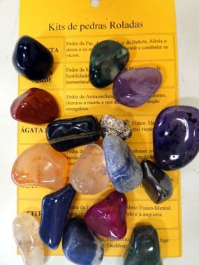 Kit de 17 Pedras