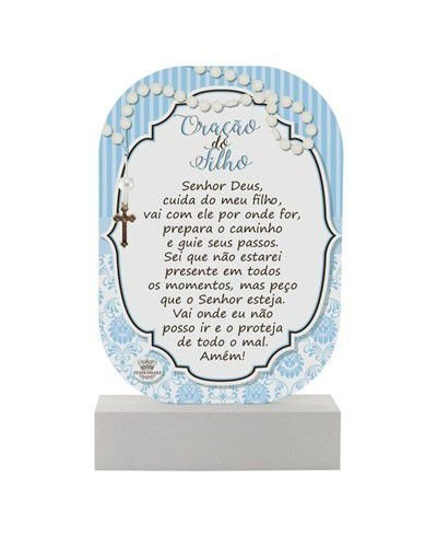 Madeirinha Azul - Oração do Filho