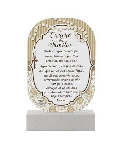 Madeirinha bege - Oração da Família