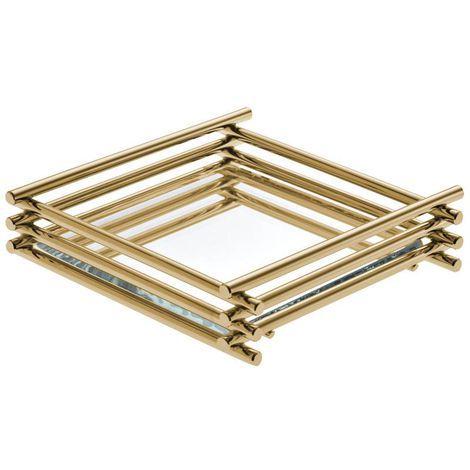 Bandeja Wire 10x10 Golden