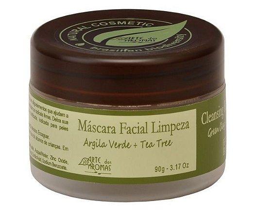 Máscara Facial de Limpeza 90g- Argila Verde