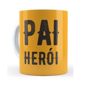 Caneca Cerâmica - Pai Herói