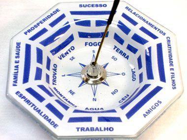 Incensário Baguá - Azul