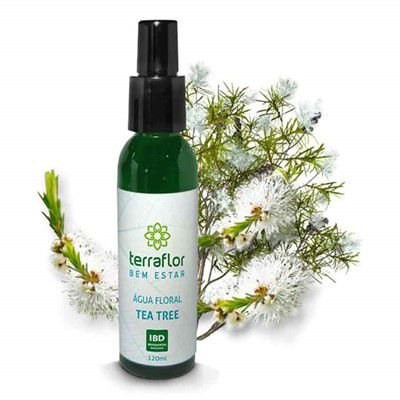 Água Floral Terra Flor 120ml - Tea Tree