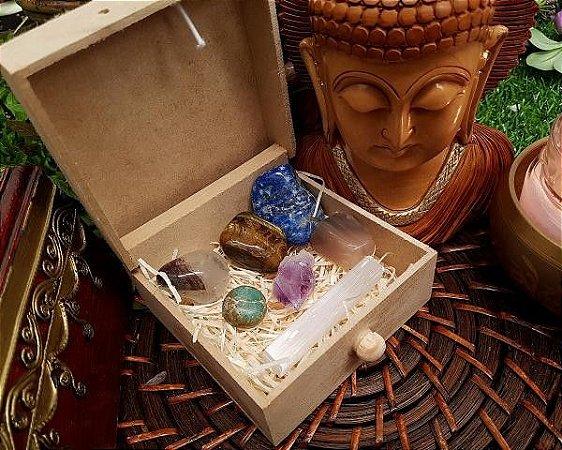 Caixa 7 pedras para Despertar dons Psíquicos