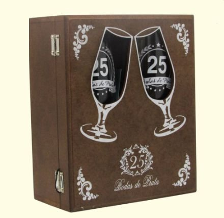 jogo de Taças na Caixa Madeira - 25 anos