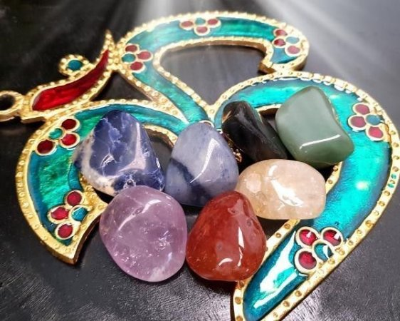 Kit de Pedras - 7 Chakras