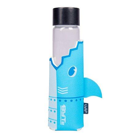 Garrafa de Vidro - Tubarão Byte