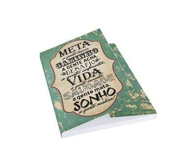 Caderno com bloco de anotação - Meta