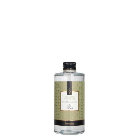 Refil Difusor de Aromas Via aroma 250ml - Alecrim