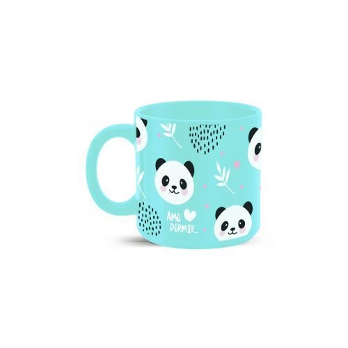 Caneca 100ml cores diversas - Amo Dormir Panda