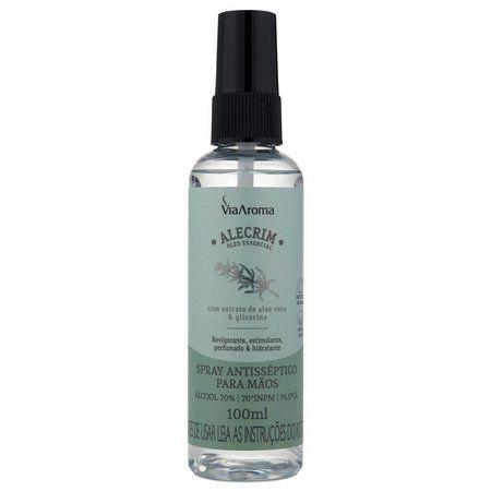 Spray Antisséptico para mãos 100ml - Alecrim