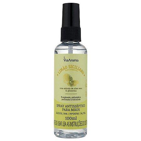 Spray Antisséptico para mãos 100ml - Limão Siciliano