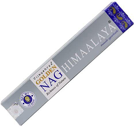 Incenso massala Golden 15g - Nag Himaalaya