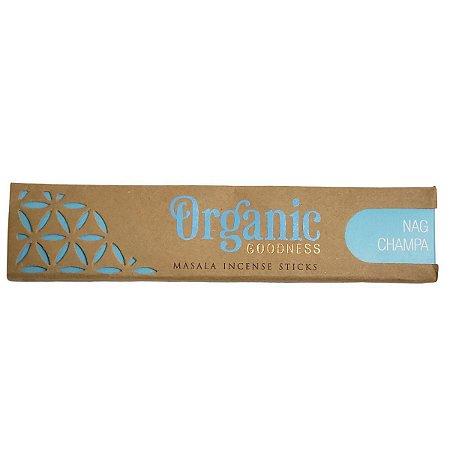 Incenso Organic Goodness 15g - Nag Champa