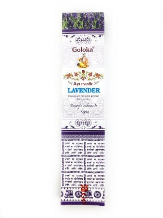 Incenso Galoka Ayurvedic 15g - Lavander