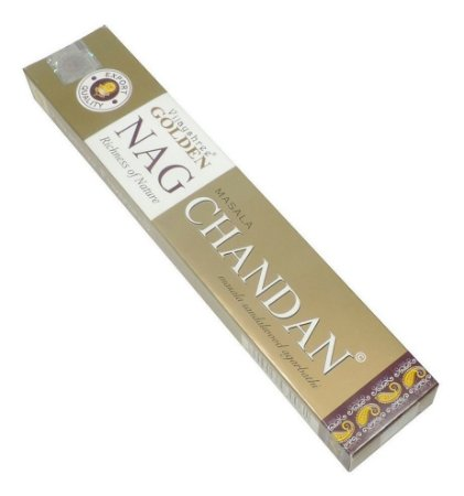 Incenso massala Golden 15g - Nag Chandan