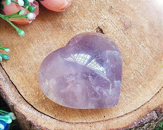 Coração de Pedra 90g - Ametista