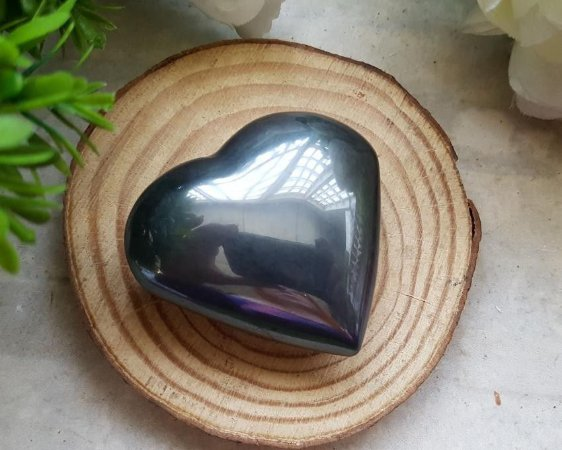 Coração de Pedra 140g - Hematita