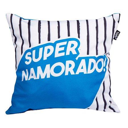 Almofada com Foto 30x30 - Super Namorado