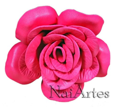 Flor Artificial Rosa cor de Rosa Dúzia