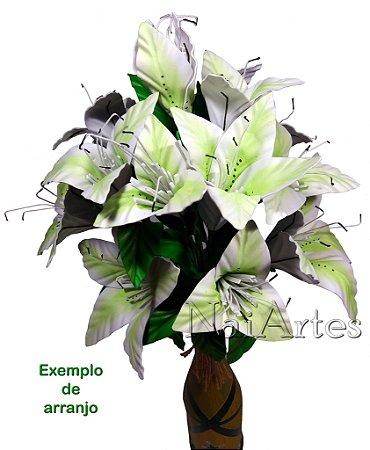 Flor Artificial Lírio Dúzia