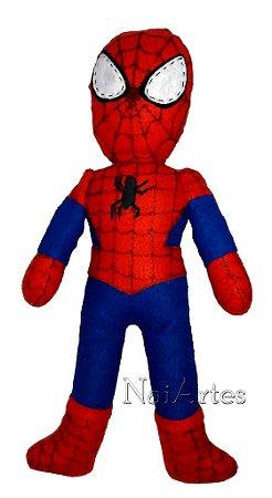 Boneco de Feltro Homem Aranha