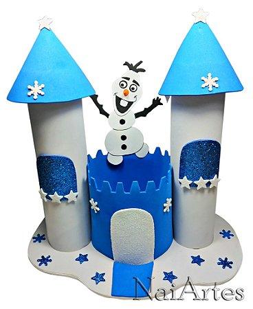 Decoração Frozen Baleiro Castelo Orloff